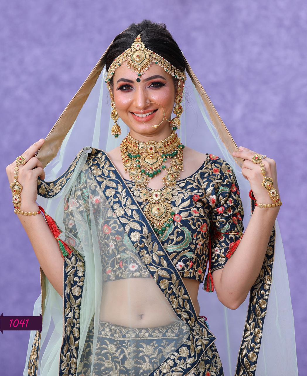 Silk Heritage Vol-11 Designer Wedding Wear Heavy Lehenga