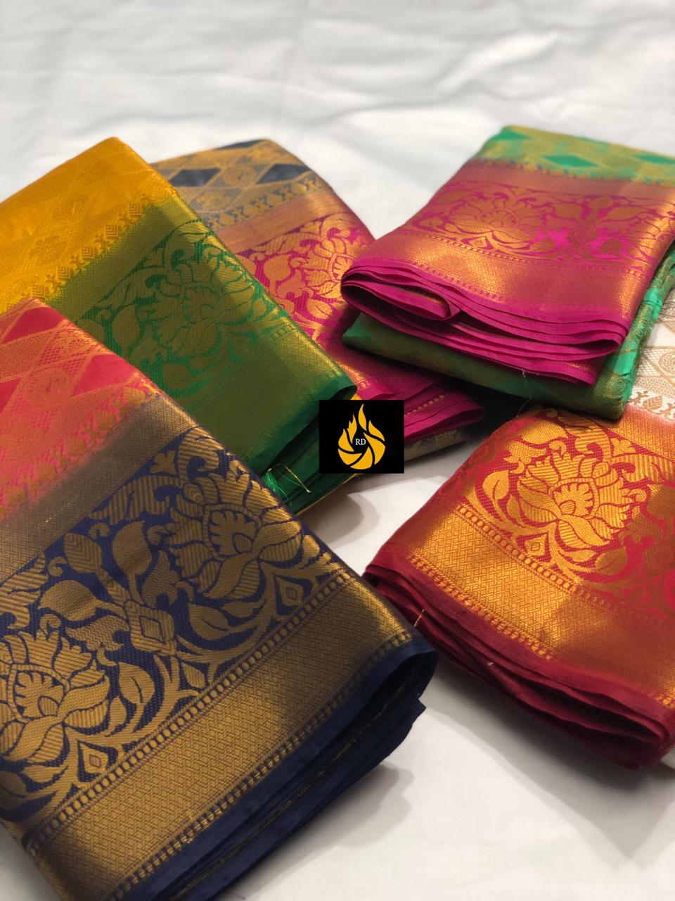 New Nylon Silk Dyeing Material Banarasi Saree