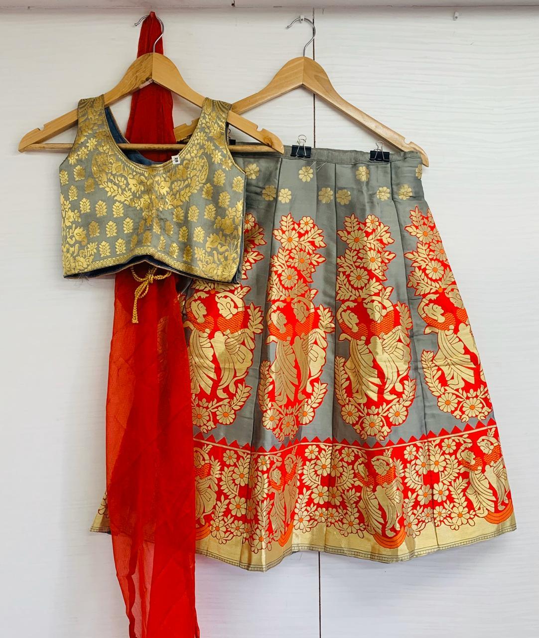Banarasi Kids Lehenga Collection Wedding special