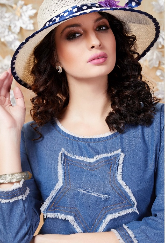 Smylee New Exclusive Dash Denims Top Kurti Catalog Collection