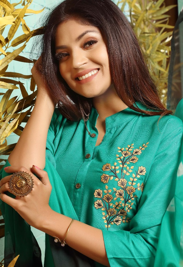 Lucky 7 Rayon Readymade Embroidery Collection
