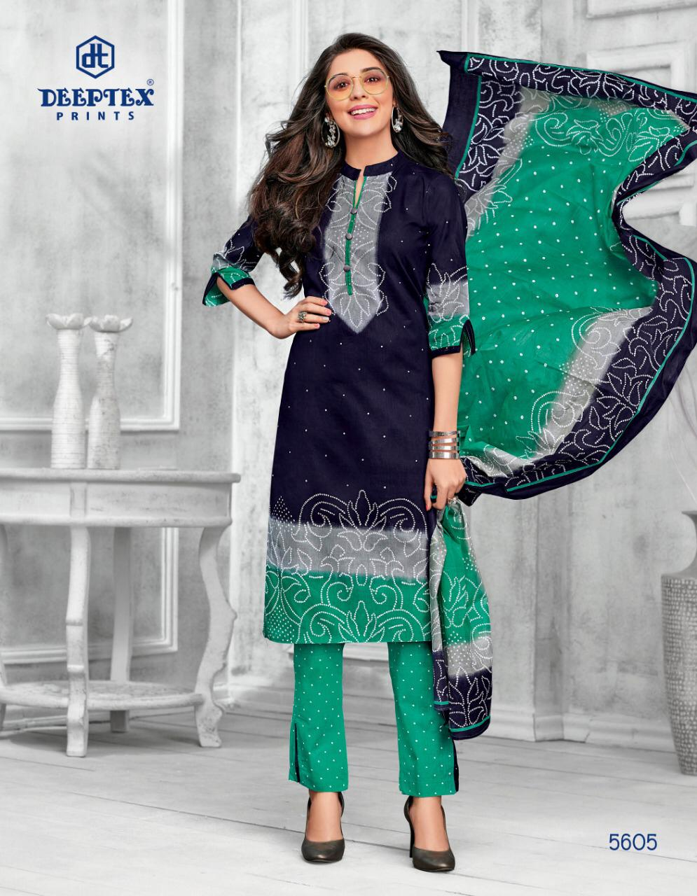 Deeptex Miss India Vol 56 Beautiful Designs Cotton Dress Material Catalog Collection
