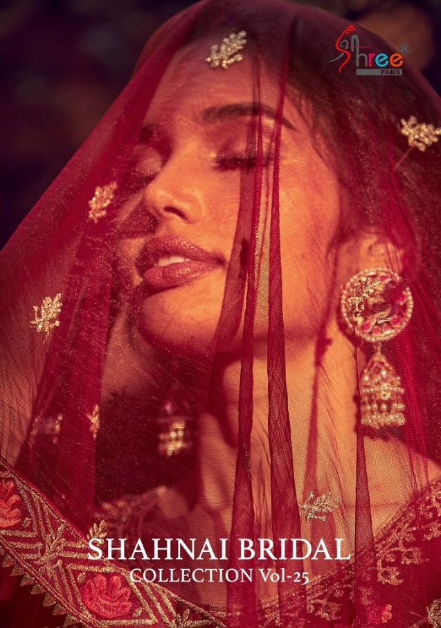 Shree Fabs New Shehnai Bridal Collection Vol 25 Wedding Designer Salwar Suit Catalog Collection