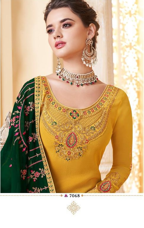 Aashirwad Suhani Nx Wedding Designer Salwar Suit Collection