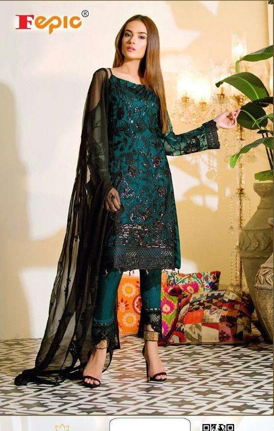 Fepic Fashion Epic Presents Rosemeen Castel Designer Exclusive Salwar Kameez Catalog Collection