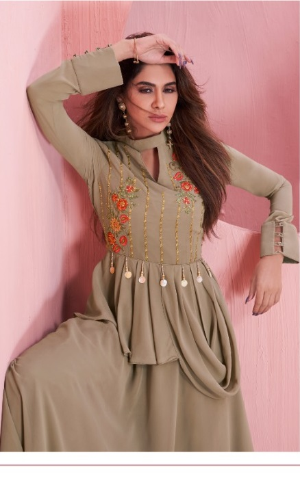 Arihant Nx Present New Exclusive Sui Dhaaga Vol 2 Long Gown Style Kurti Catalog Collection