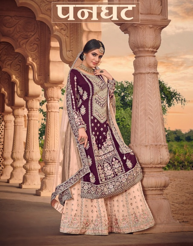 Present New Panghat Exclusive Wedding Salwar Suit Catalog Collection By Kaara Suits