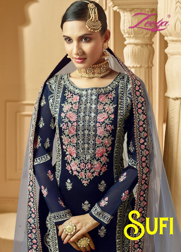 Sufi Vol 1 Exclusive Wedding Salwar Suits Catalog Collection By Zeeya