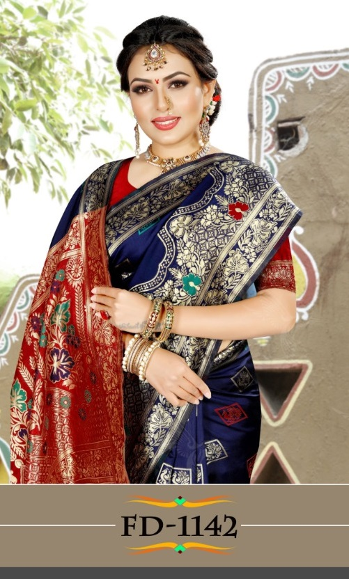 Fashion Dictionary FD Vol 45 Banarasi Soft Silk With Reach Pallu Saree Collection