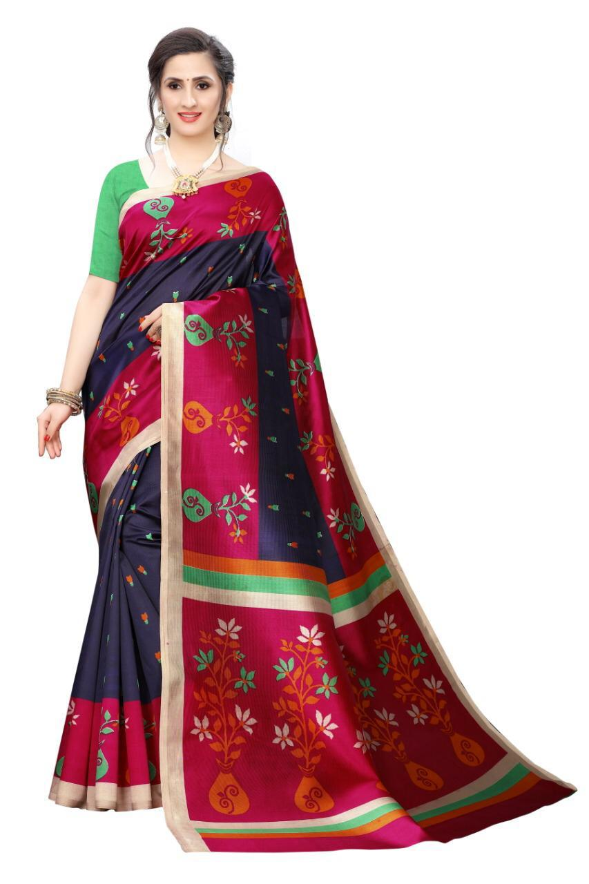 Mysore Silk Heavy Printed Saree Collection