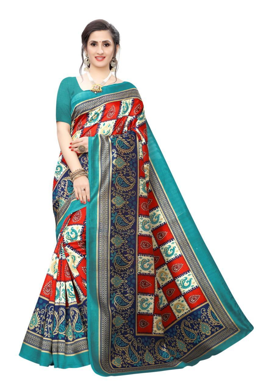 Mysore Silk New Printed Saree Collection