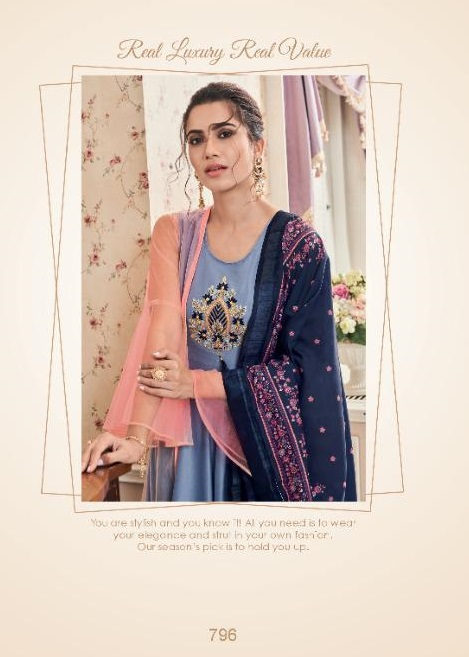 Sajawat Sara Nx Readymade Suit With Plazzo Collection
