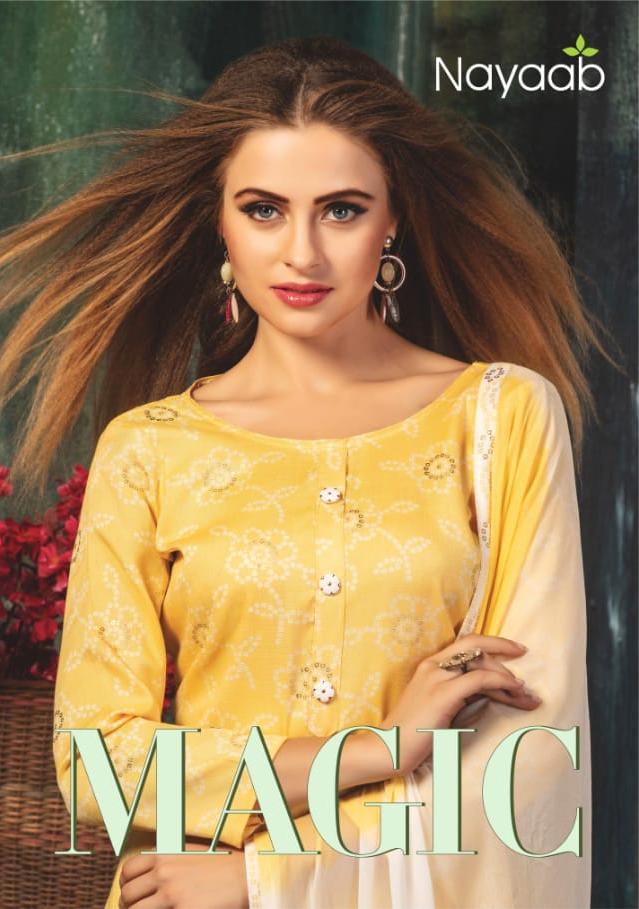 Nayaab Magic Heavy Rayon Dress Material Collection