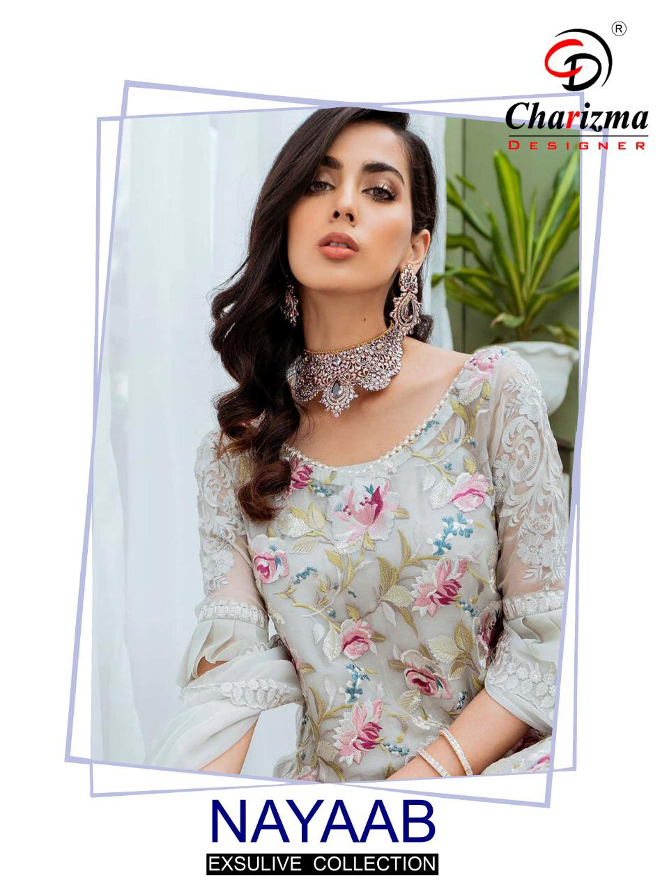 Nayaab Exclusive Salwar Suit Collection By Charizma Designer