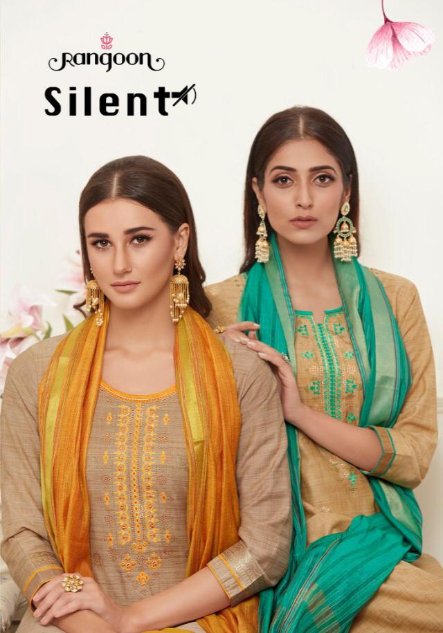 Rangoon New Silent Readymade Dress Material Catalog Collection By Kessi
