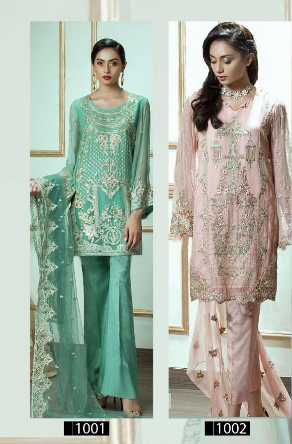 Bonaza New Zibaysh Pakistani Style Salwar Suit Catalog Collection