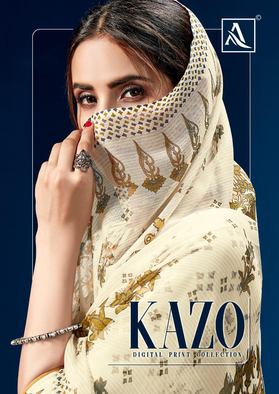 Alok Suit Kazo Printed Salwar Suit Catalog Collection