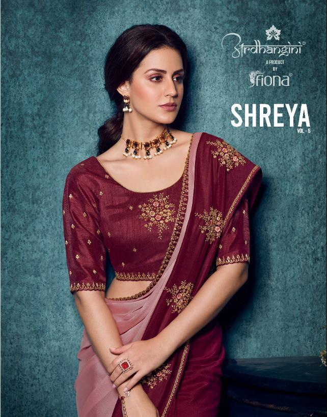 ARDHANGINI SAREE SHREYA VOL 5 BY FIONA