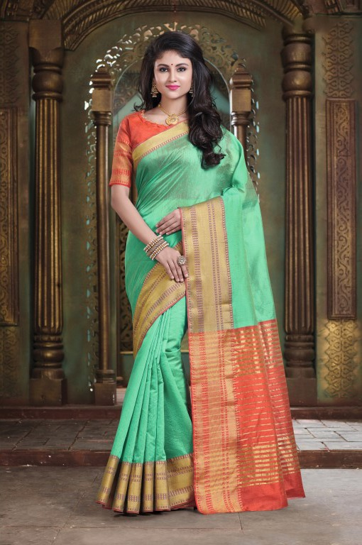 Gadhwal New Cotton Handloom Saree Collection