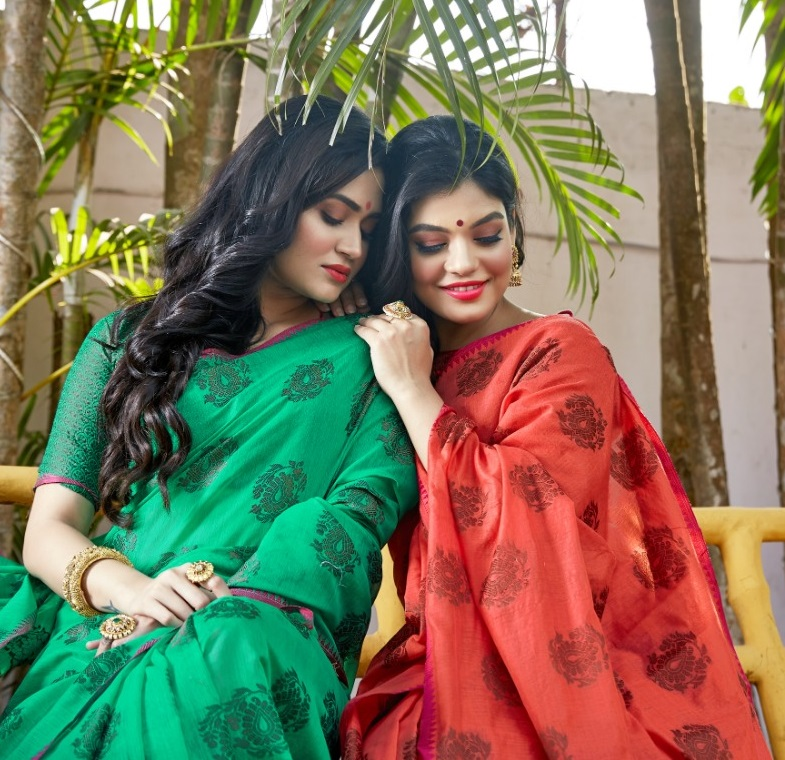 Kimaya Silk Soft Cotton Weaving Saree Collection