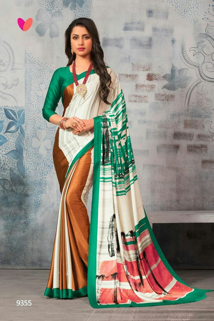 Unique 4 Heavy Mosh Silk Digital Printed Saree Collection