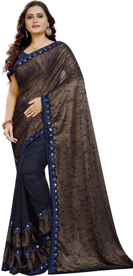 BLC DESIGNER RUFFLE SAREE WITH NEW BEAUTIFUL COLOURS