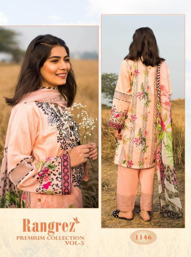 Shree Fab Rangrez Premium Collection Vol 5 Salwar Suit Catalog Collection