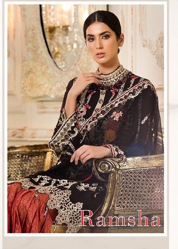 Kaara Suits Present New Ramsha Pakistani Salwar Suit Catalog Collection