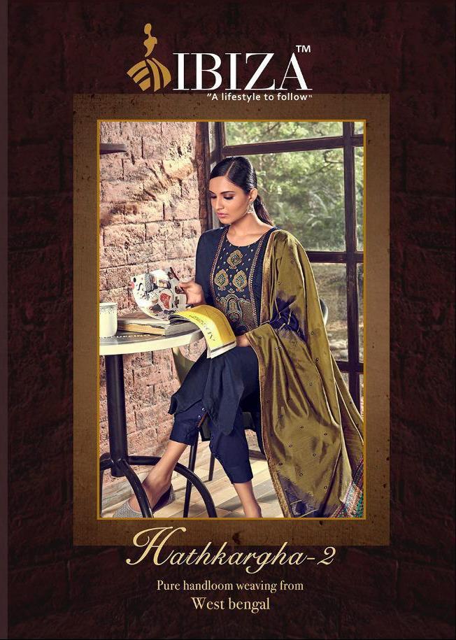 Ibiza New Hathkargha 2 Designer Salwar Suit Catalog Collection By Sanskruti Silk Mills Pvt Ltd.