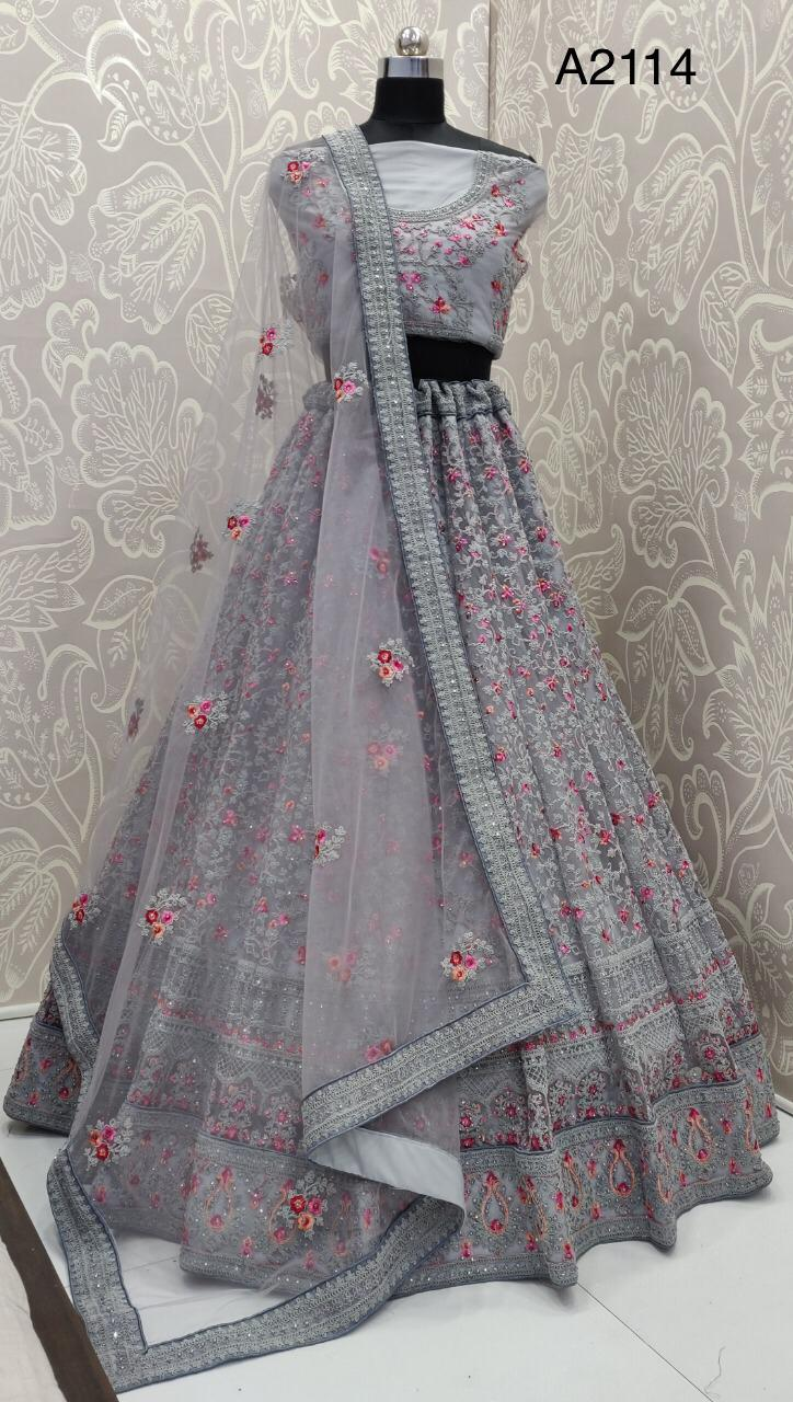 A2114-103 Designer Heavy Codding work Party Wear Lehenga At Wholesale rate