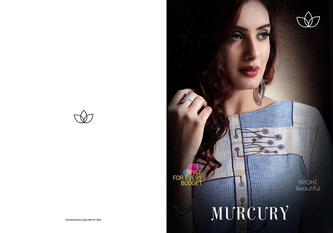 Evermore Murcury Handloom Cotton Party Wear Kurti At Wholesale Rate