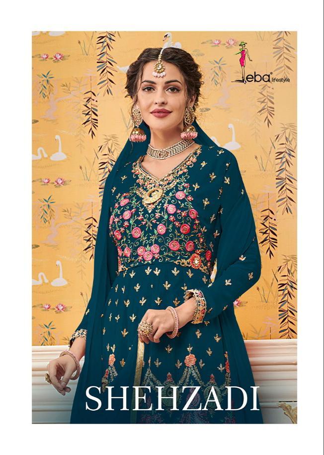 Eba Lifestyle Shehzadi -1 Latest Wedding  Style Plazzo Suit Catalog at wholesale rate