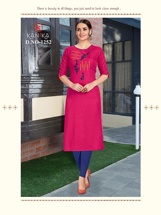 Thankar Aditi Vol - 6 Rubby Silk Embroidery Festive Wear Kurti Catlog at Wholesale rate