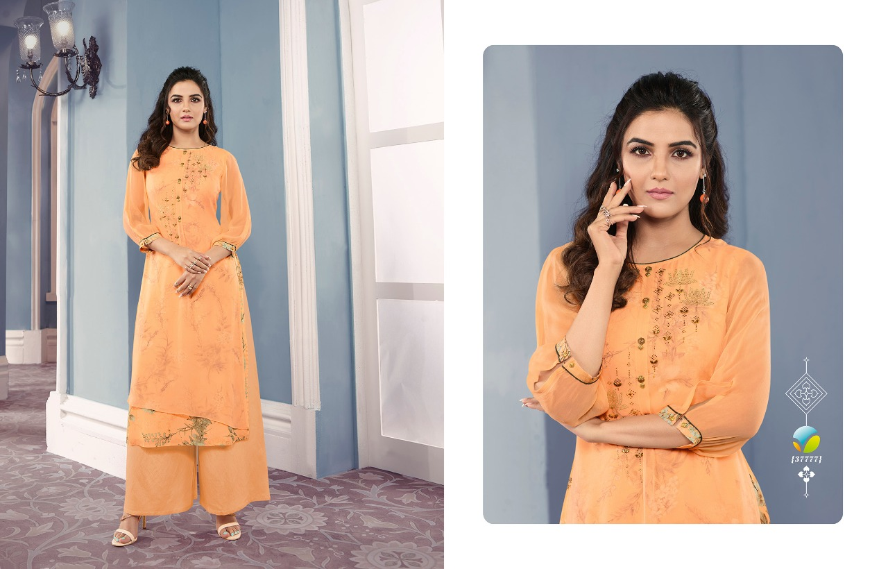 Tumbba Happiness Georgette With Printed Festive Wear Catalog at Wholesale rate