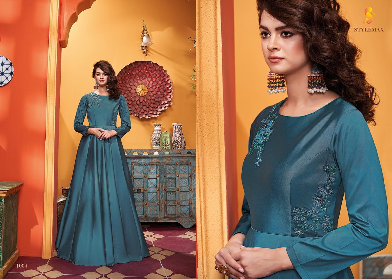 StylemaxTm Almirah Vol -3 Party Wear Soft Silk  with Embroidery Gown Catalog at Wholesale Rate