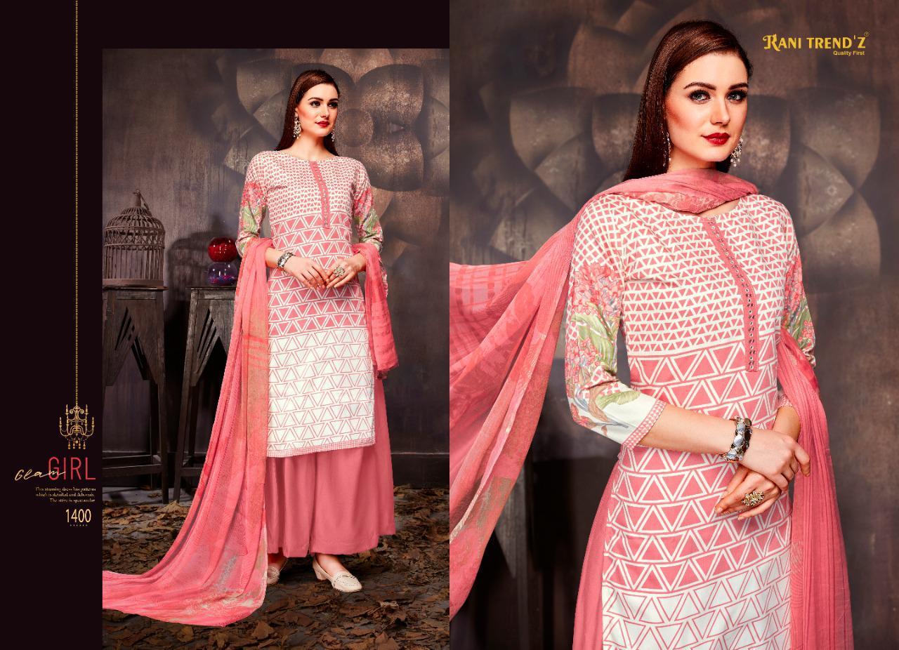 Rani Trendz  Dollar -3  Heavy Jam Silk Festive Wear Dress Material Catalog at Wholesale rate
