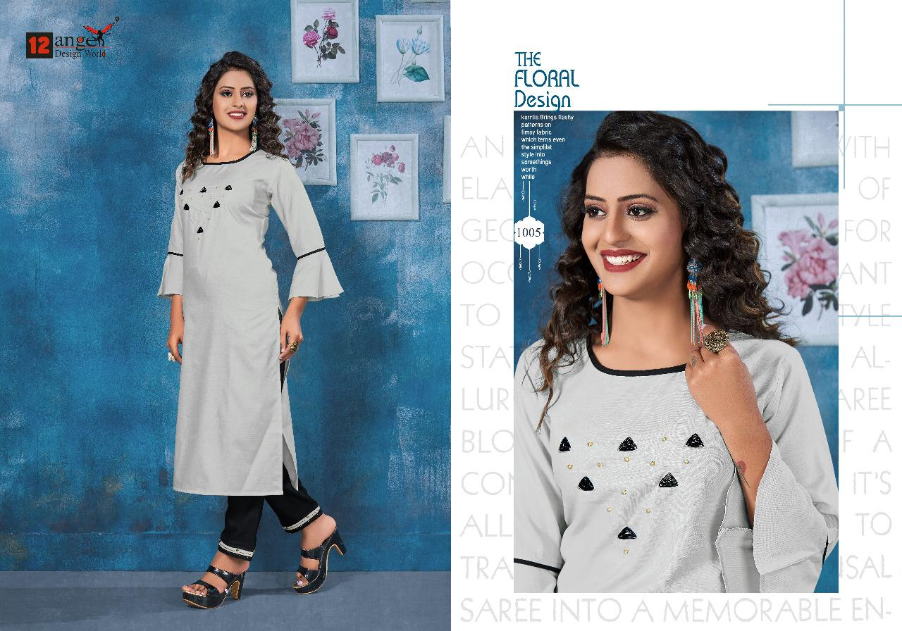 12angal  ISHA  Fancy Heavy Rubby Cotton With Embroidery Work Catalog at Wholesale rate