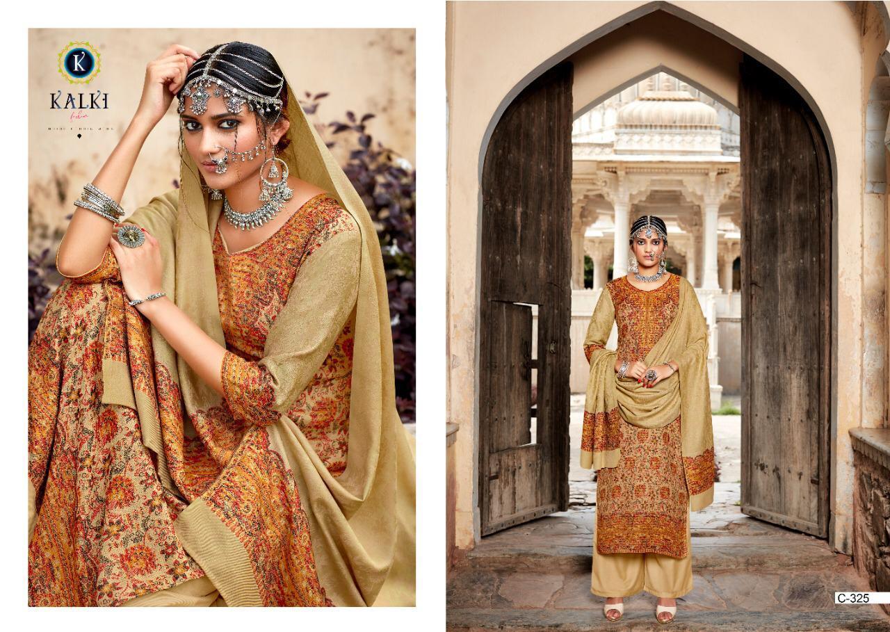 KALKI FASHION GULMOHAR VOL-2 Designer Pushmina Winter Collection Suit Catalog at Wholesale rate