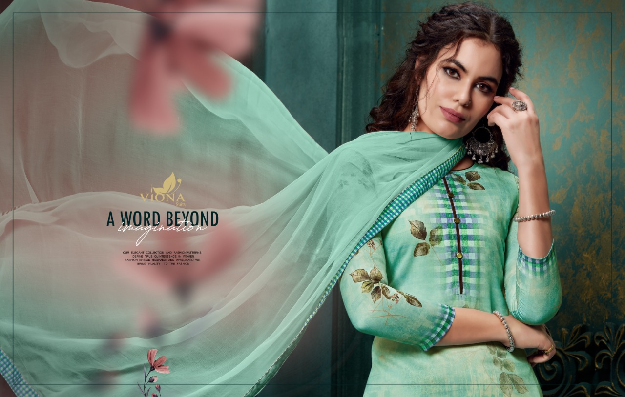 Viona Alina  Stylish Pure Pashmina  Digital Printed Kurti Catalog at Wholesale rate
