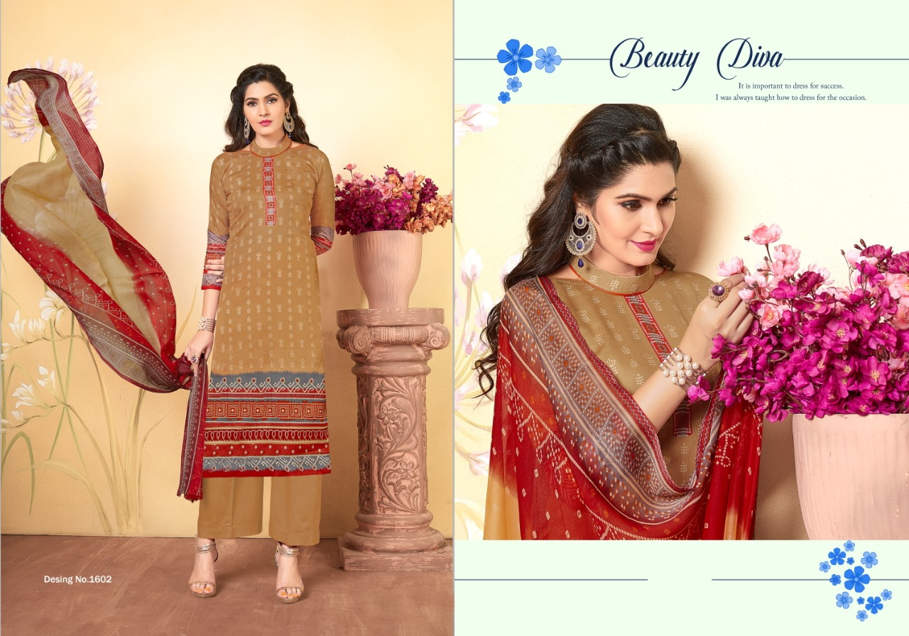Fashion Diwa Mihira Vol - 16 Pure  Cotton With Digital Print Fancy Salwar Suit Catalog at Wholesale rate
