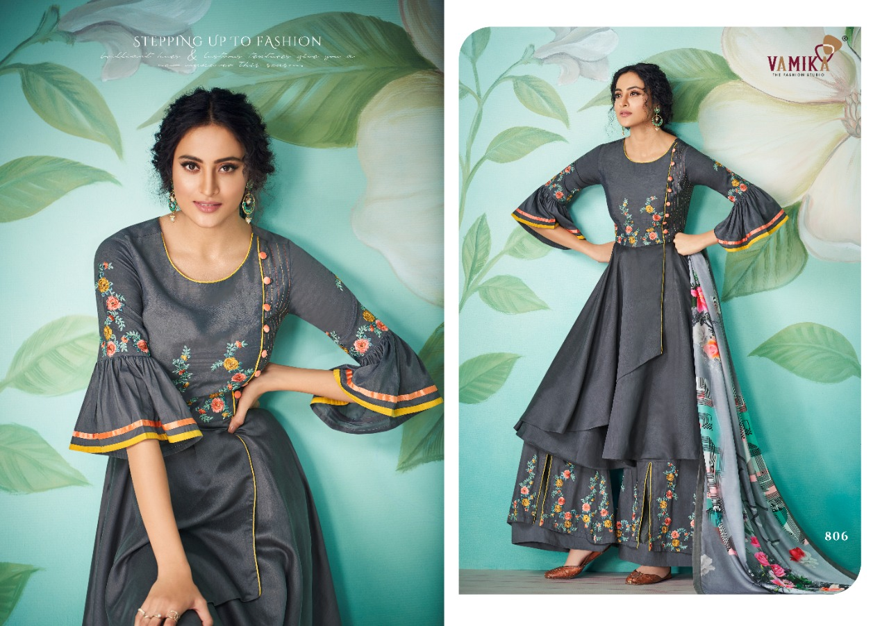 Vamika Chahat Vol -2 Pure Masline Festive Wear Kurti Catalog at Wholesale rate
