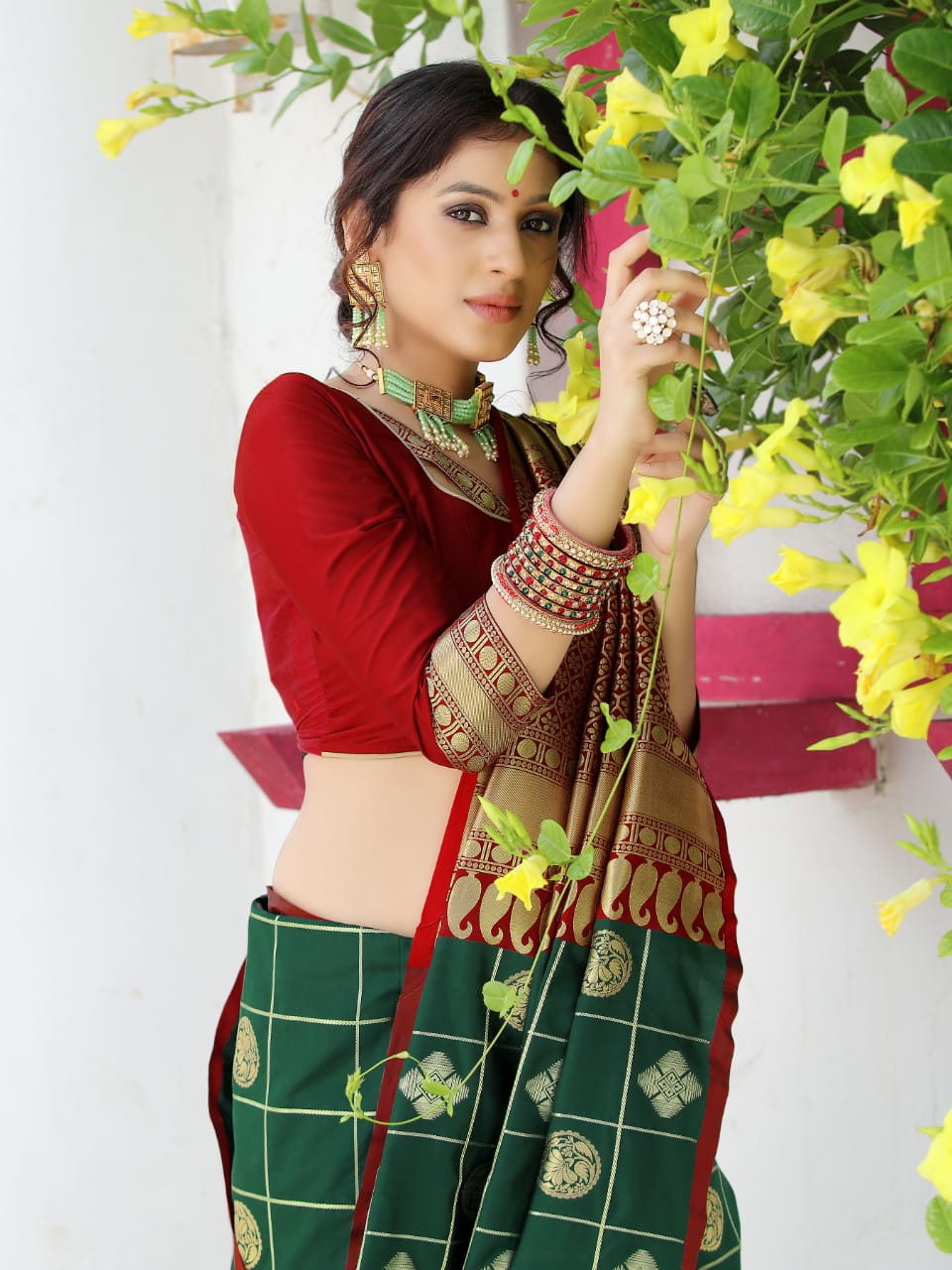 Raj Fabric Saswin Silk Designer Soft Weaving Silk Wedding Wear Saree Catalog at Wholesale rate
