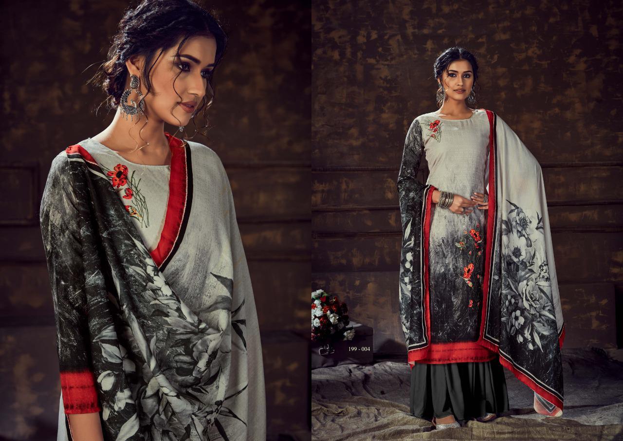 Sargam Print Qafilla VOL-2 Pure Pashmina Digital Print Salwar Suit Catalog at Wholesale rate