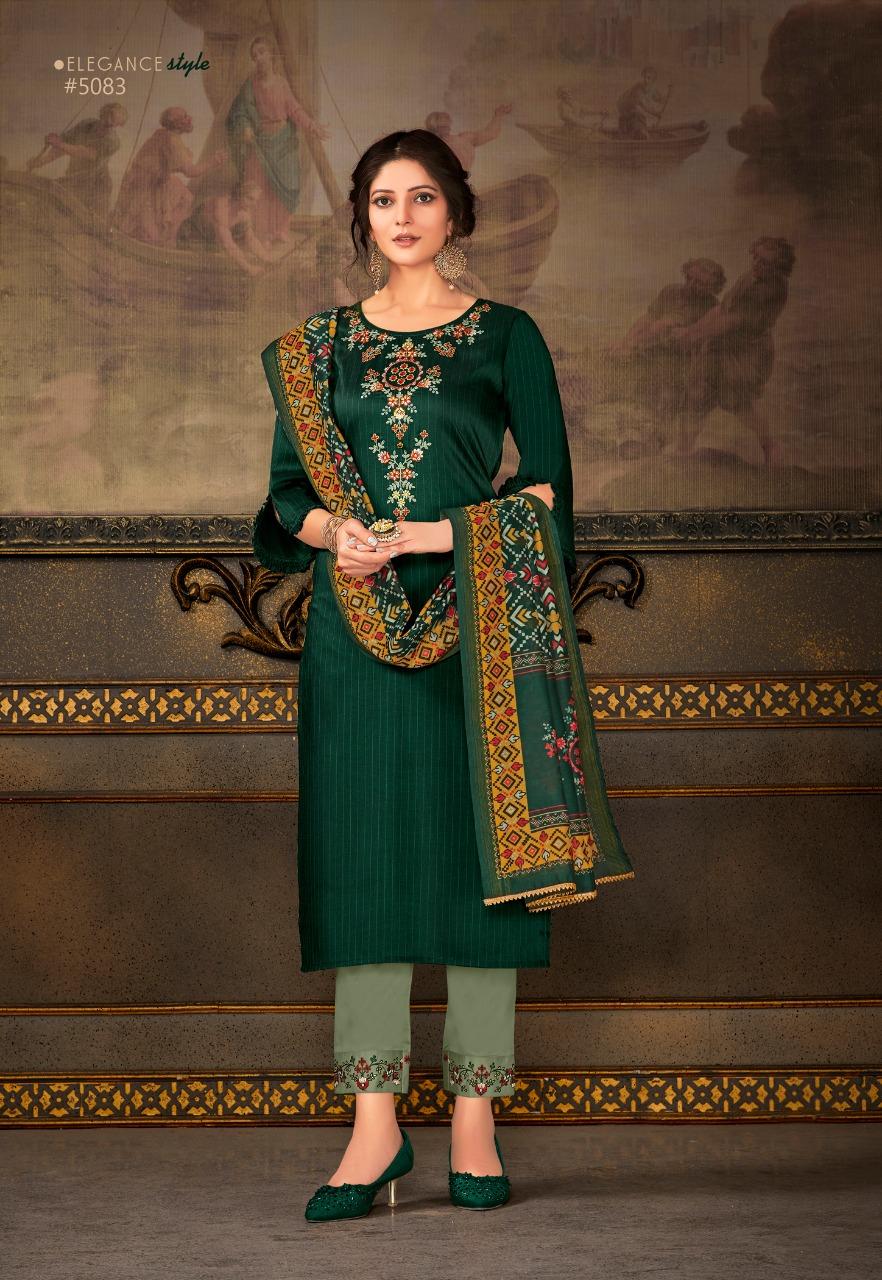 Lily Lali  Madhubala Stylish Bemberg Silk Festive Wear Kurti Catalog at Wholesale rate
