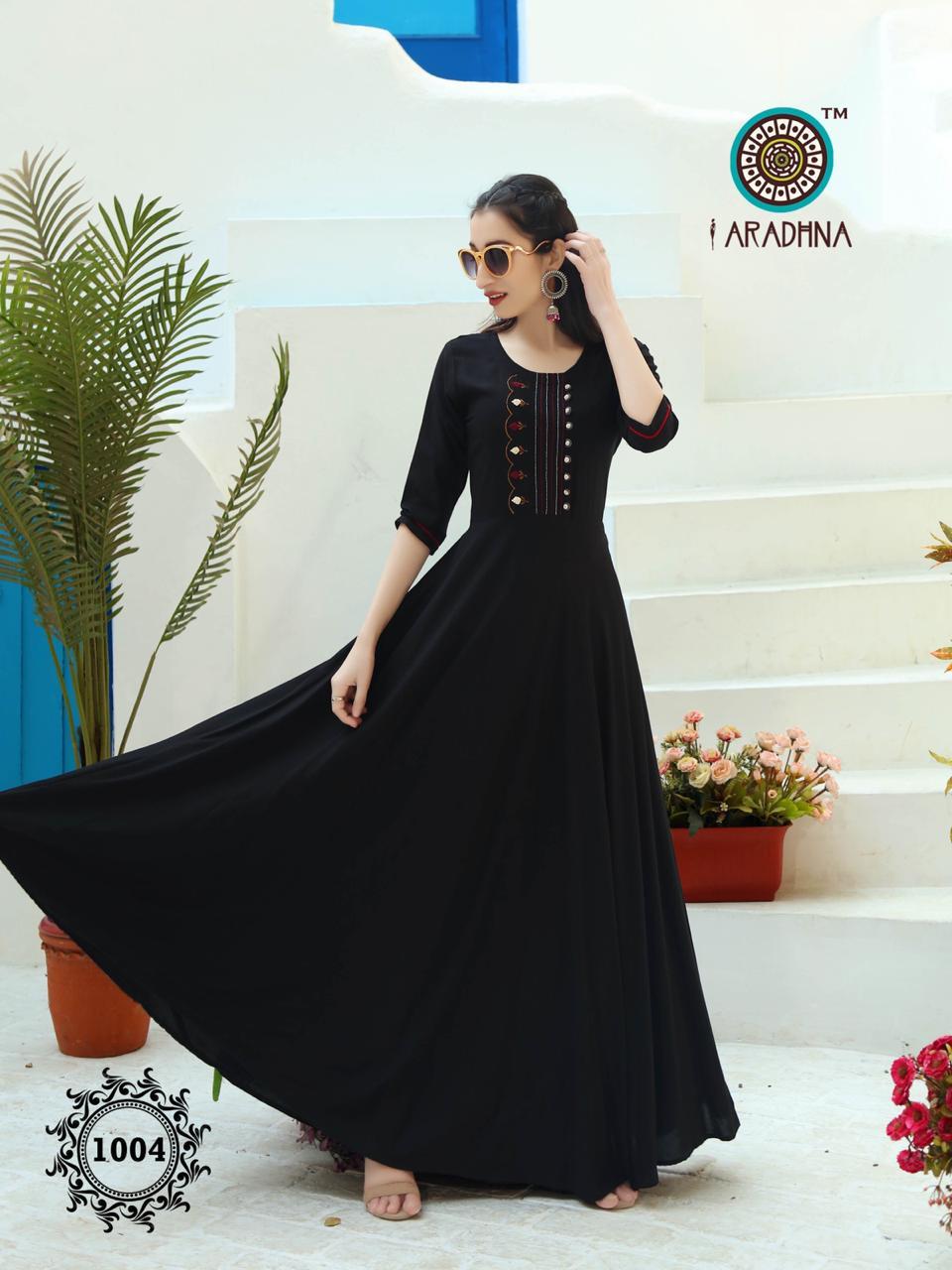 Aradhna Fashion Fabulous vol 1 Designer Rayon With Embroidered Kurti Catalog at Wholesale rate