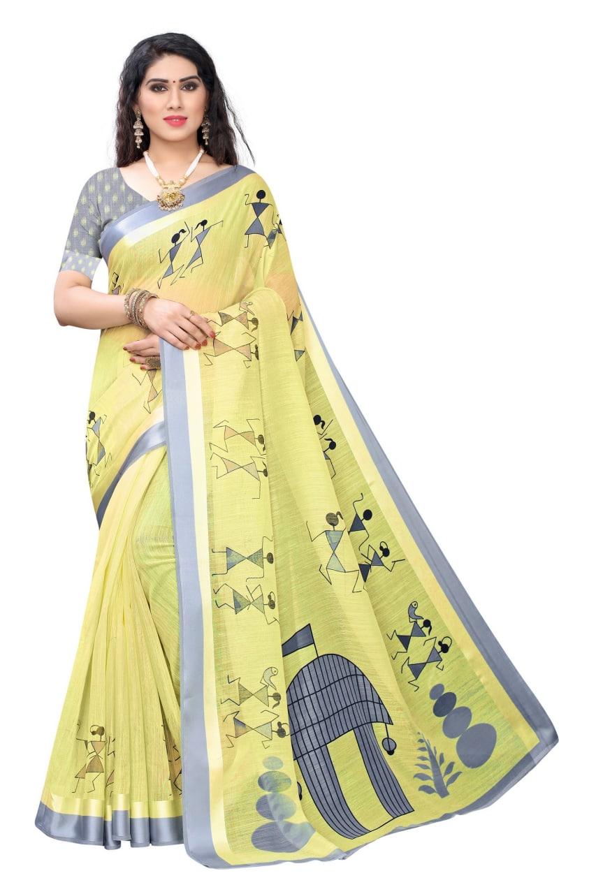 Thankar Ayodhya Beautiful  Lilan Printed Saree Catalog at Wholesale rateThankar Ayodhya Beautiful  Lilan Printed Saree Catalog at Wholesale rate