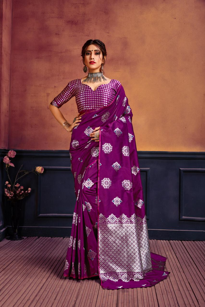 Thankar Rajashree Designer Banarasi silk Wedding Wear  Saree Catalog at Wholesale rate