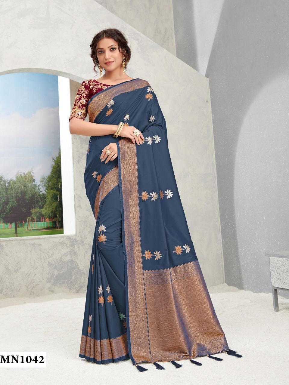 Thankar Roohi Vol 14 Designer Banarasi Pure Silk Wedding Wear Saree  Catalog at Wholesale rate