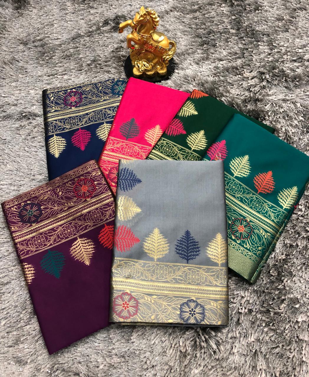 Thankar Gajpriya Vol 11 Designer Soft weaving Silk Banarasi sarees Catalog at Wholesale rate