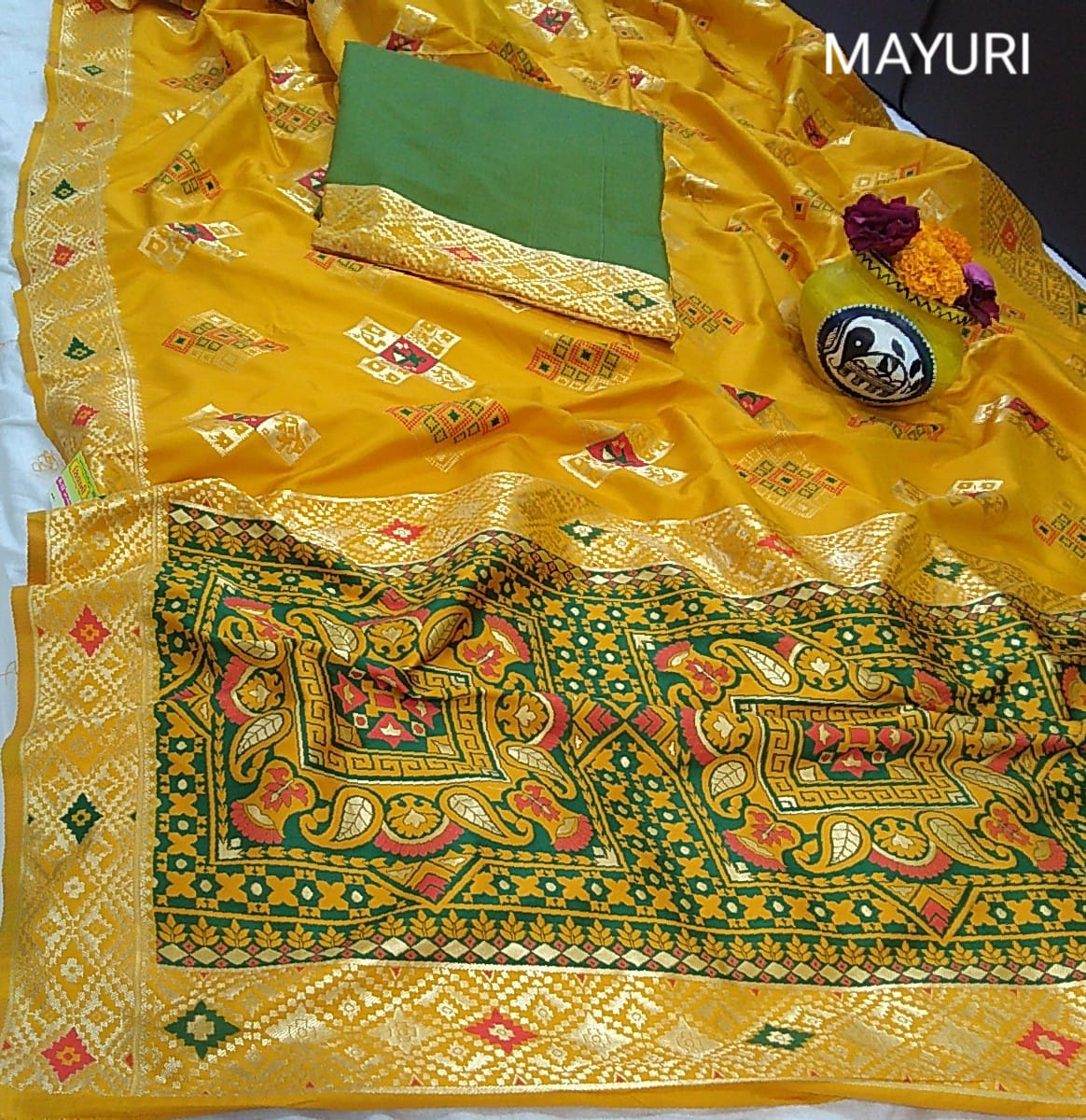 Thankar Mayuri  Beautiful Very Smooth Rapier Jacquard  Saree Catalog at Wholesale rate